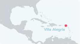 Villa Alegria Location