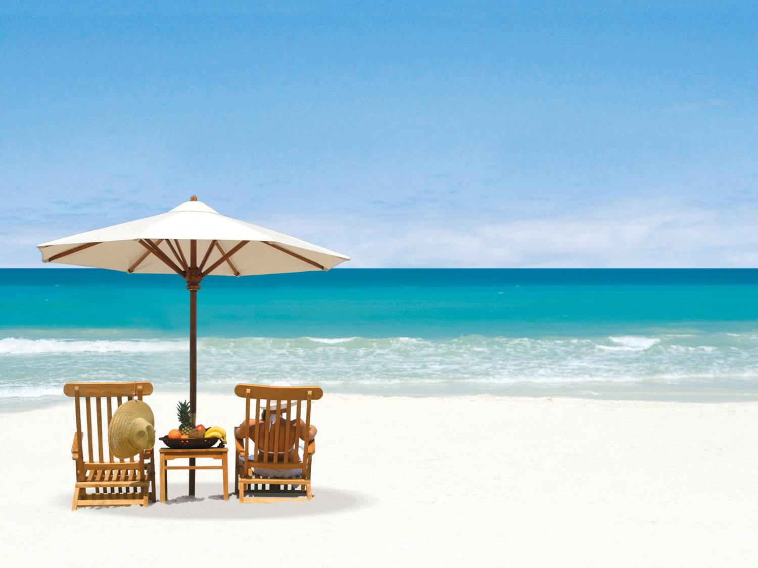 Relaxing on Anguilla beaches