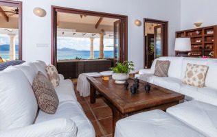 Anguilla Villa Alegria Great Room