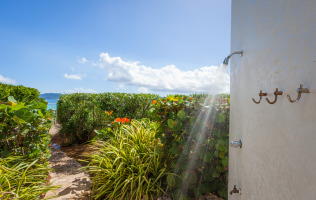 Anguilla Villa Alegria Photos Outdoor Shower