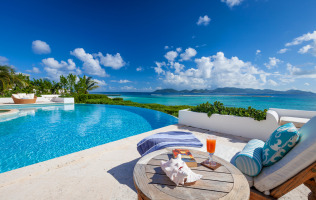 Anguilla Resorts Villa Alegria Poolside