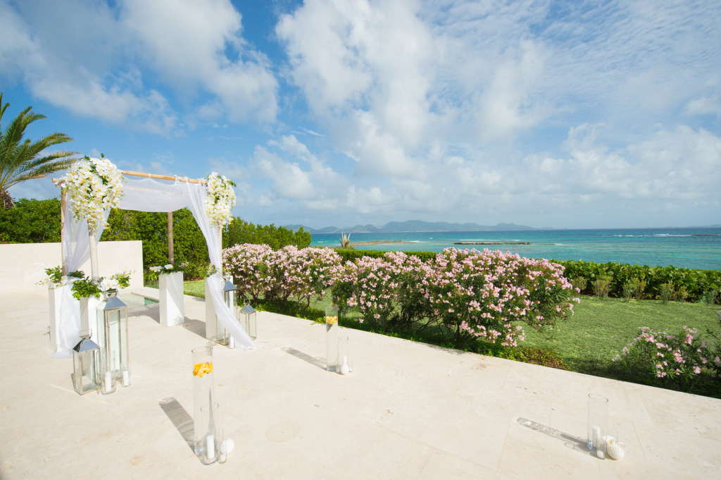 Anguilla Weddings Arch