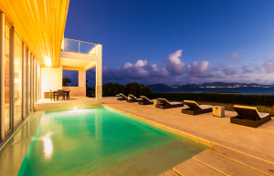 Anguilla Villas Beaches Edge Night Pool