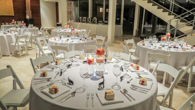 Beaches Edge Anguilla Weddings Tables