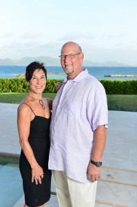 Neil & Wendy Freeman with tips on Anguilla top things to do