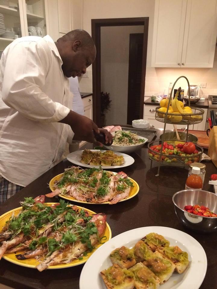 private villa chef