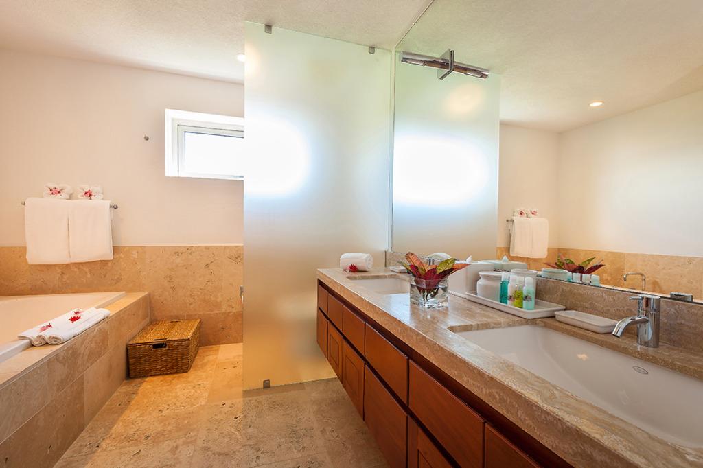 Anguilla Villas Beaches Edge Master Bath