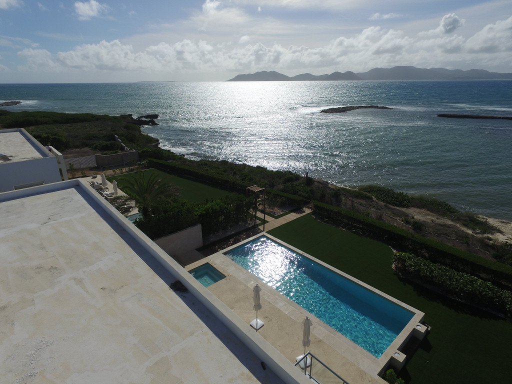 Anguilla Villas Beaches Edge West Pool View