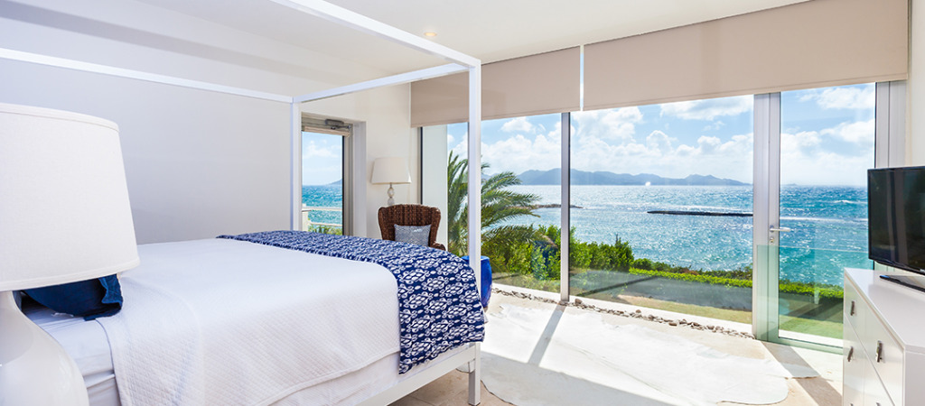 Serene bedrooms with stunning views