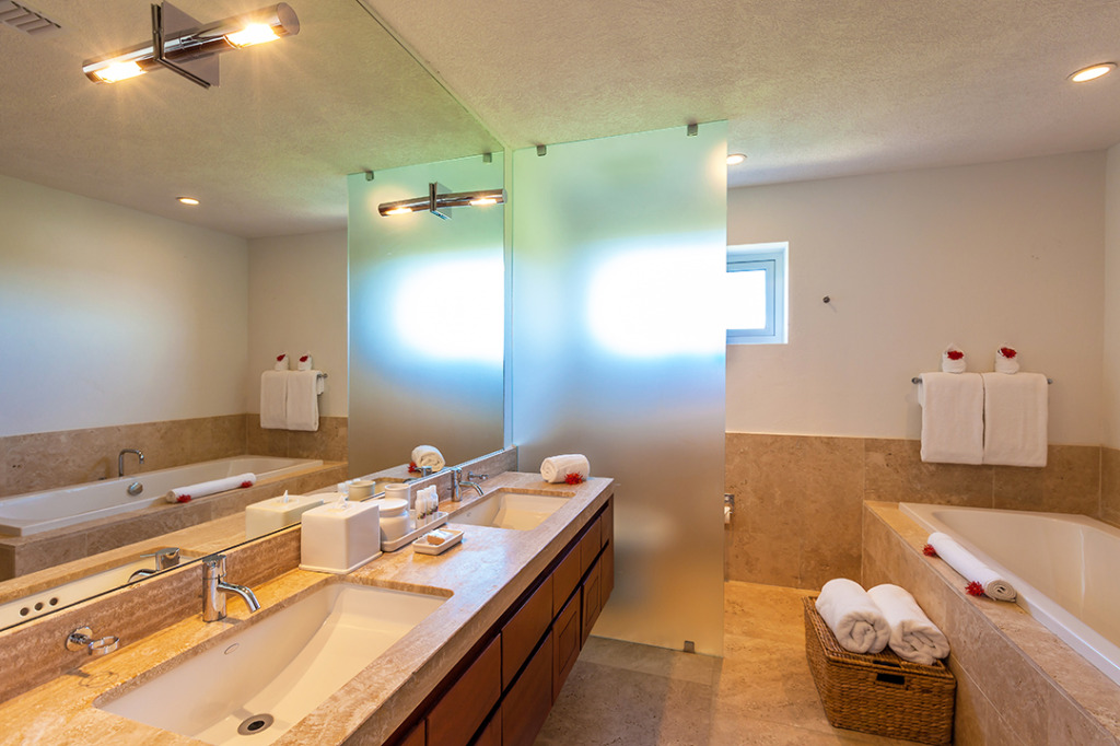10 Bedroom Anguilla Villa Bathroom