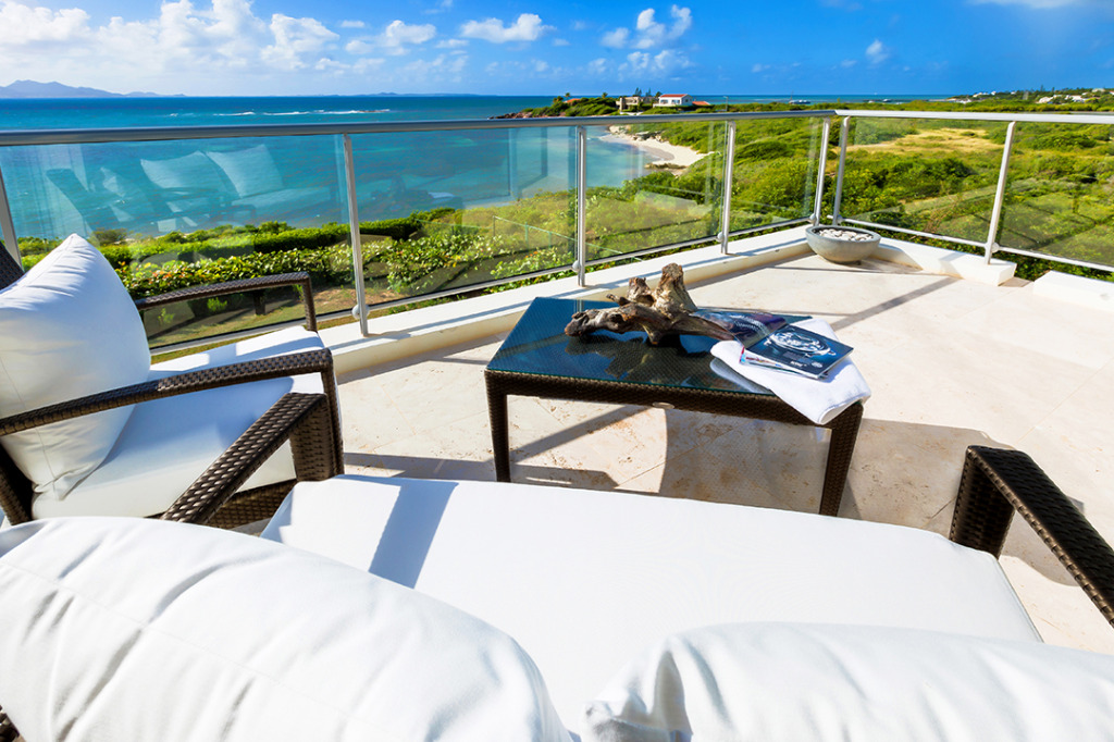 Anguilla Villas Beaches Edge Balcony