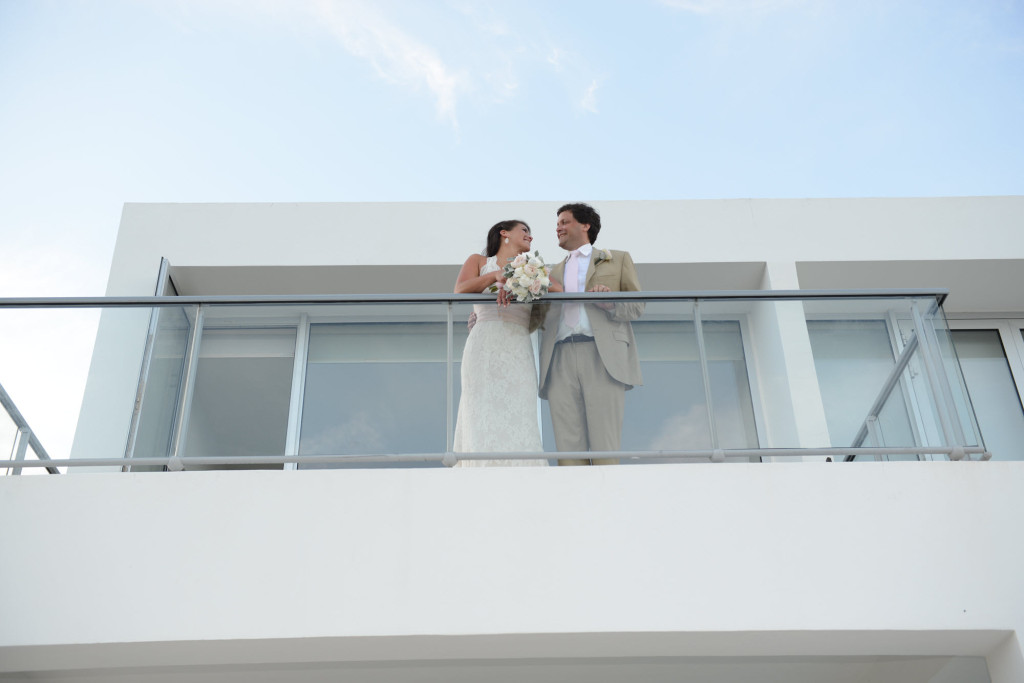 Anguilla Wedding Beaches Edge New Balcony