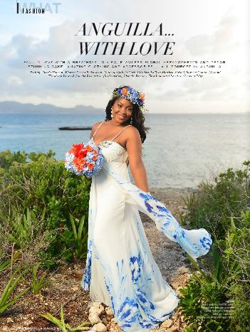 Design Anguilla Magazine Beaches Edge Cover