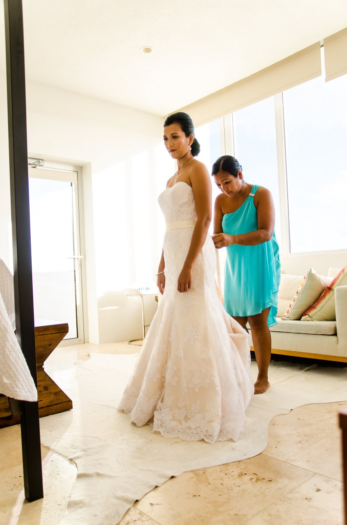 Anguilla Wedding Getting Ready