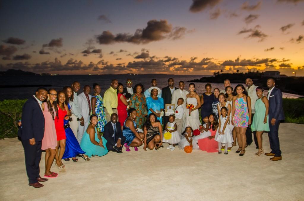 Destination Wedding Guests at Beaches Edge Villas