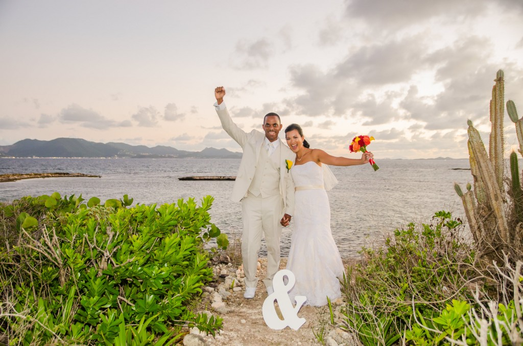 Anguilla Wedding Beaches Edge Married