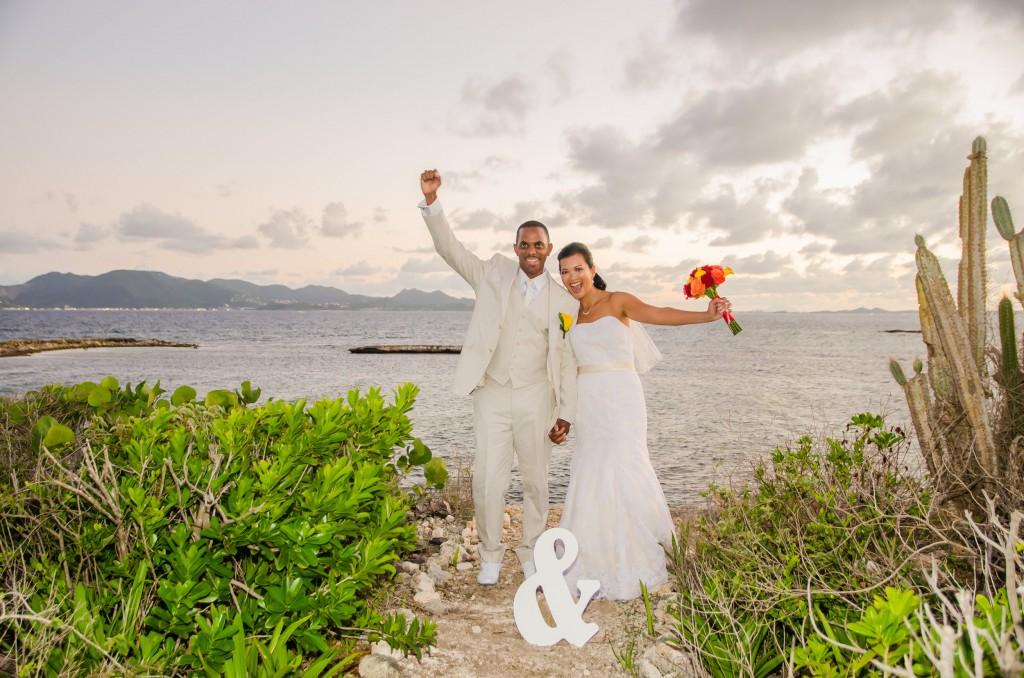 Anguilla Wedding Beaches Edge Married