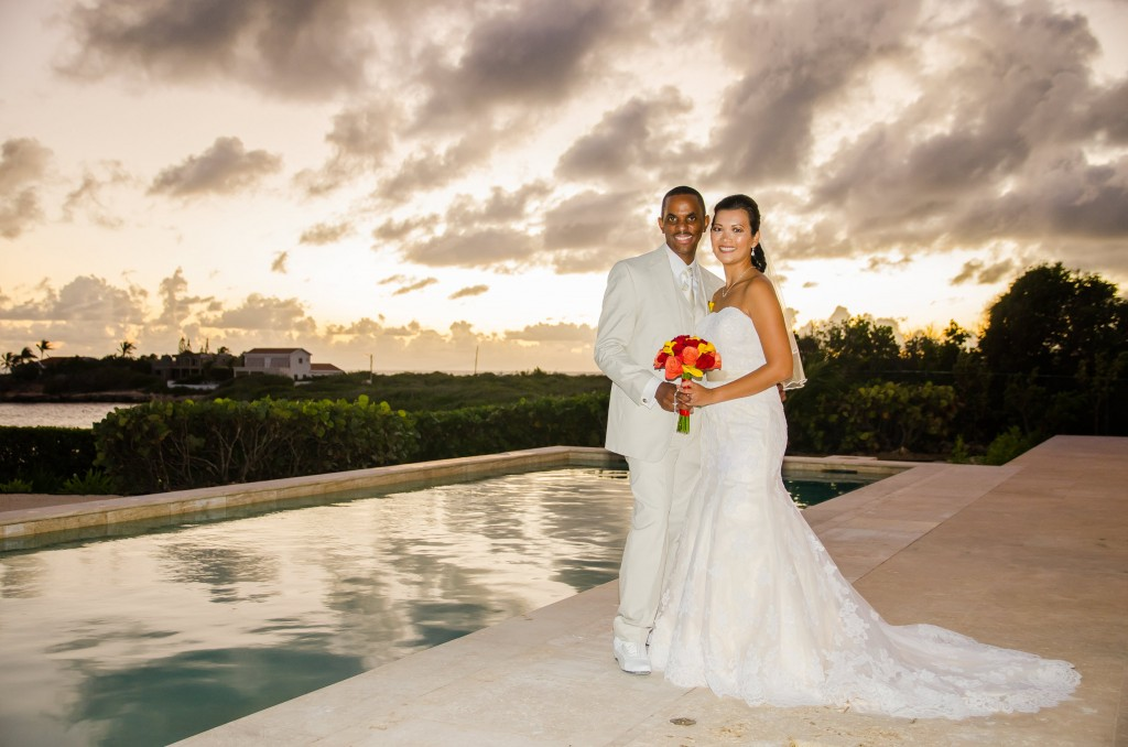 Anguilla Wedding Beaches Edge Sunset