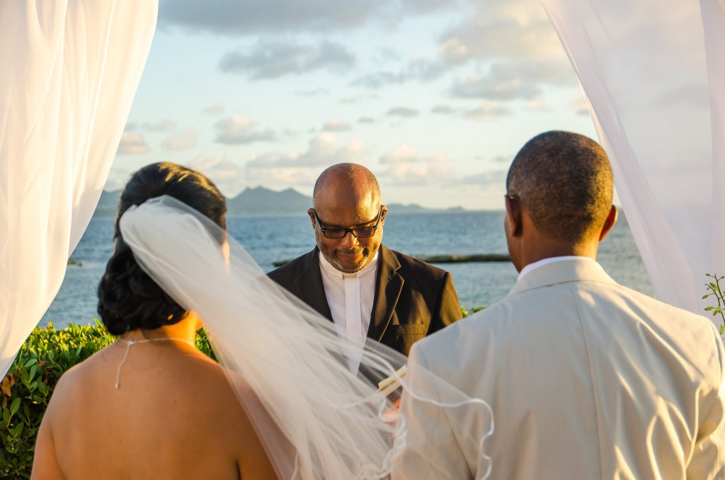 Anguilla Wedding Beaches Edge Ceremony Venue