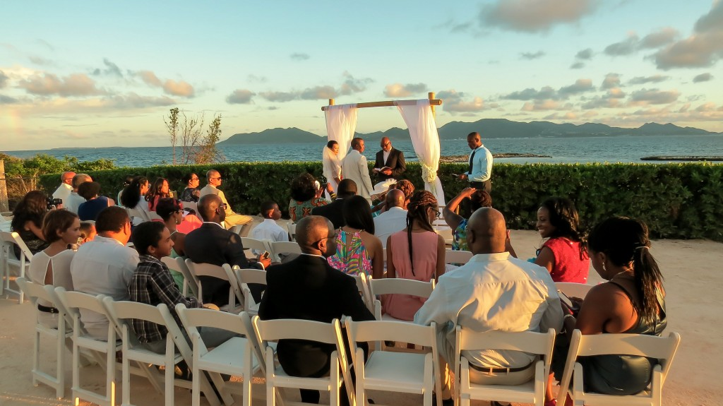 Anguilla Wedding Beaches Edge Ceremony Venue Villa