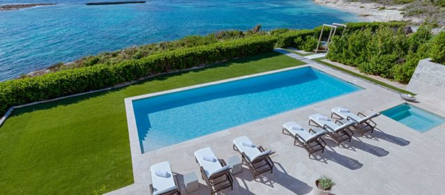 Beaches Edge Anguilla Villas East Villa New Pool